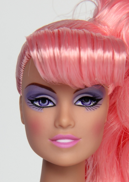 Integrity rockin romance jem id page 12 doll caucasian fr white in integrity terms complexion softly curled side ponytail curled bangs violet eyes and eye make up pale pink lips and ccuart Images