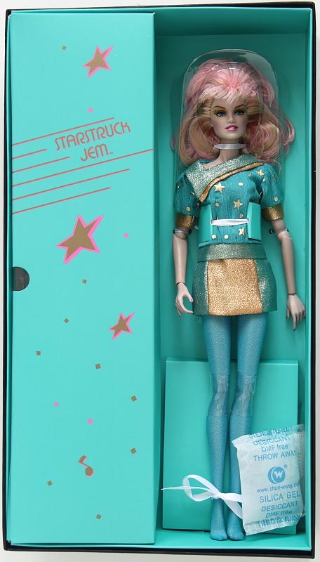 "12/"" FR~Starstruck Jem Dressed Doll~Jem And The Holograms~NIB~NRFB"