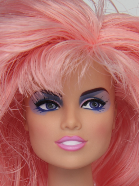 Integrity who is he kissing id page 12 inch 305 cm articulated fashion doll 1 jem caucasian fr white in integrity terms complexion with long layered pink hair violet eyes eye ccuart Images