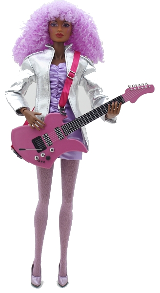 SHANA ELMSFORD The JEM AND THE HOLOGRAMS Collection 14028
